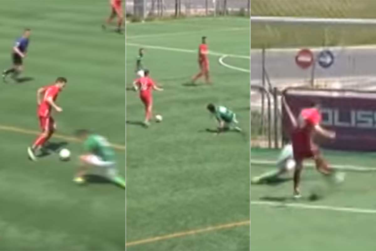 Un gol 'maradoniano' levanta las sospechas