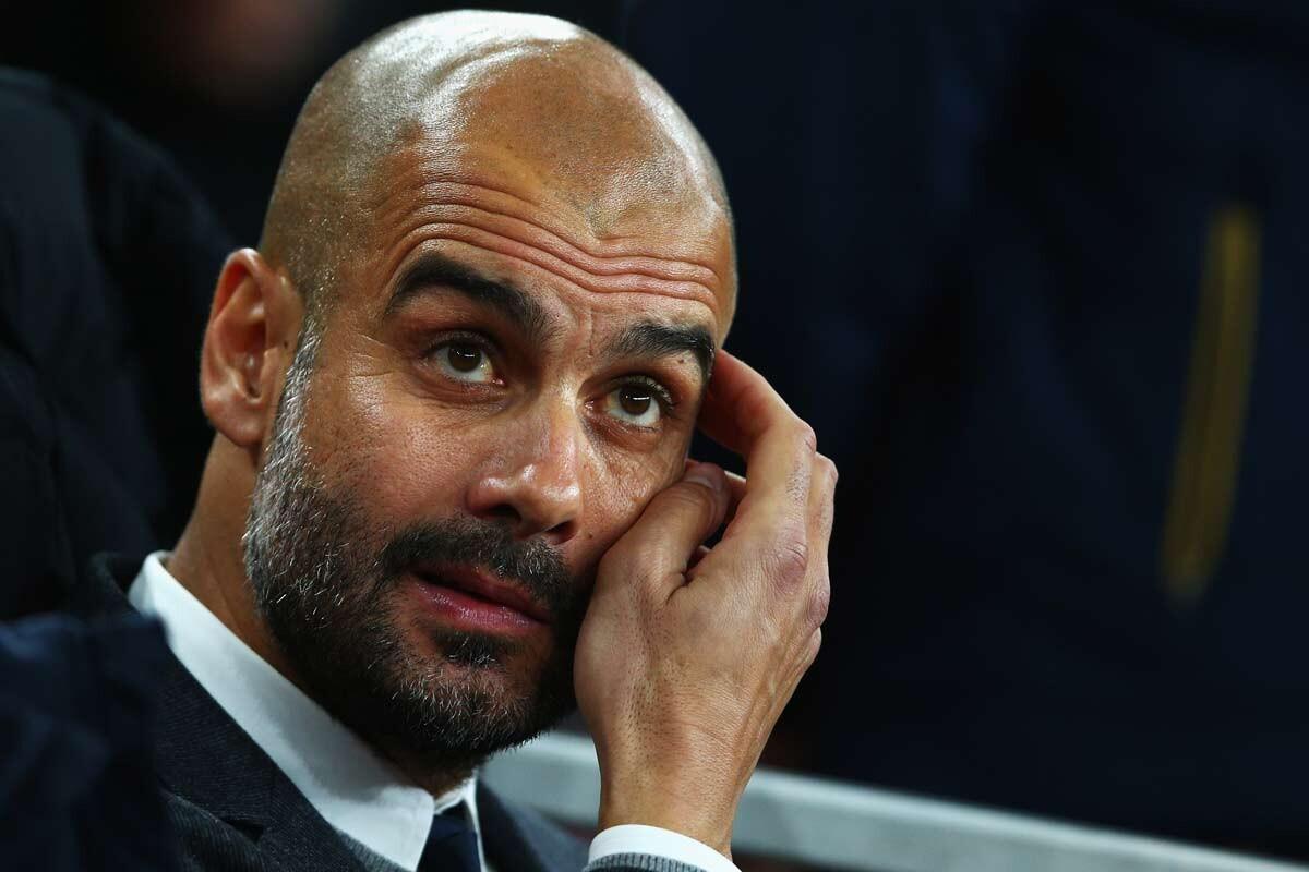 Pep Guardiola, entrenador del Bayern de Munich