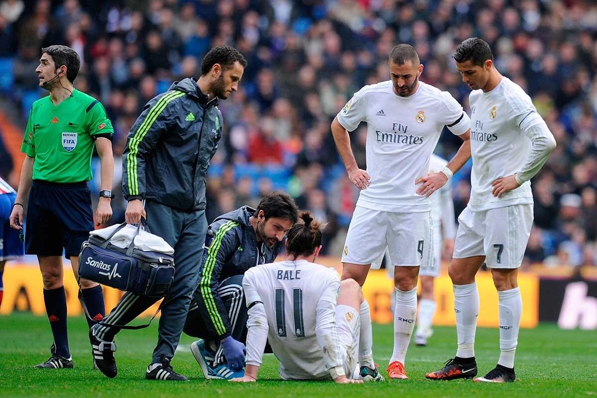 Solo cuatro habituales del Real Madrid no se han perdido ningún partido por lesión esta temporada