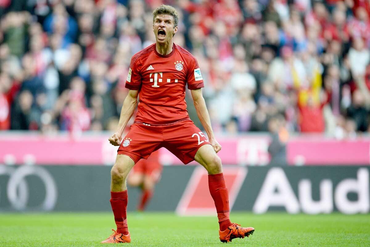 Thomas Muller, del Bayern Munich