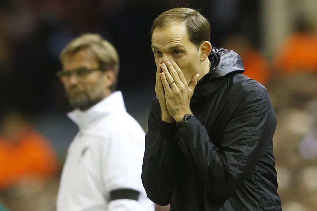 Thomas Tuchel no entiende la derrota ante el Liverpool en Europa League