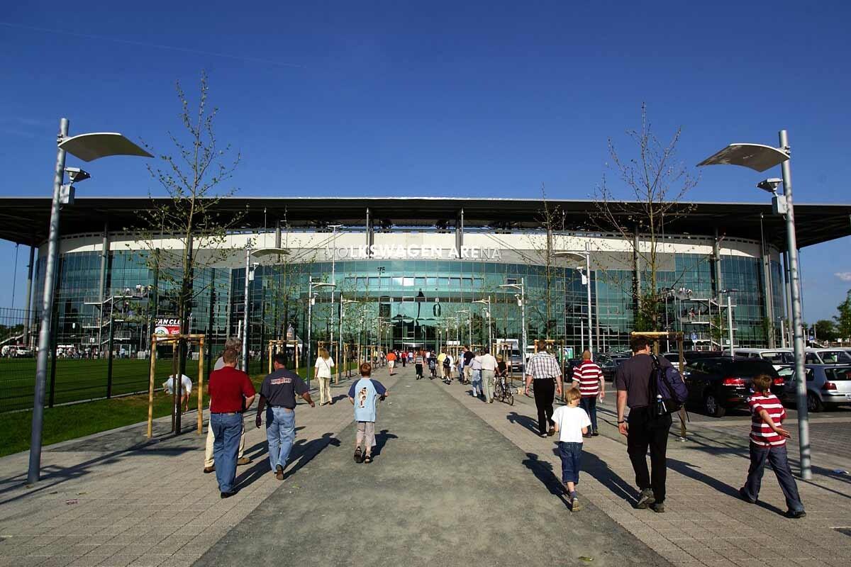 Volkswagen Arena, estadio del Wolsfburgo