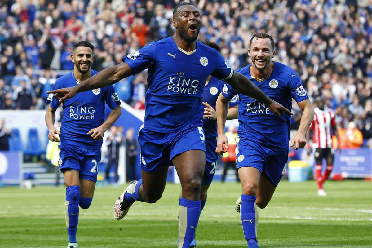 Wes Morgan, del Leicester City