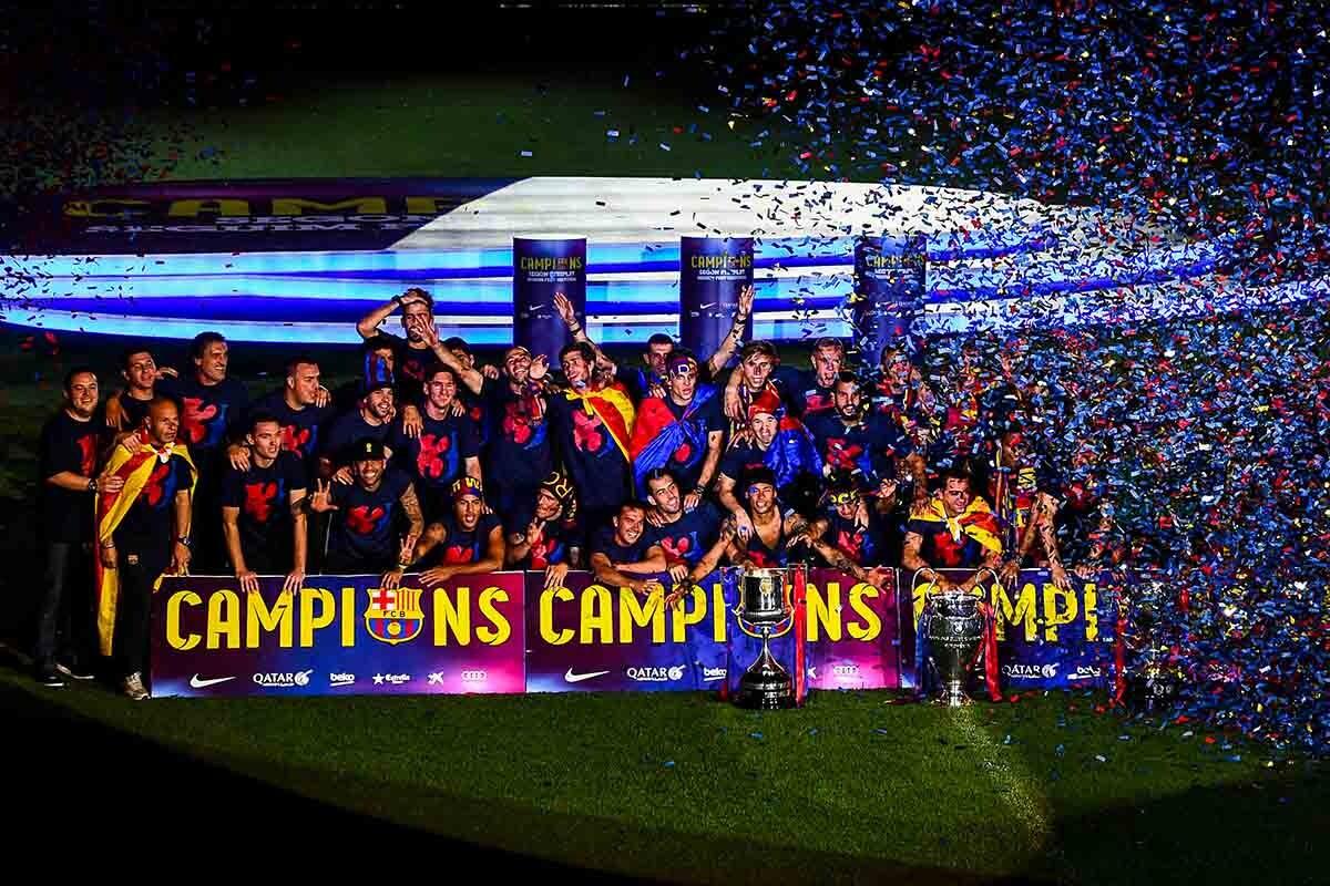 El Barça campeón d ella temporada 2014-15