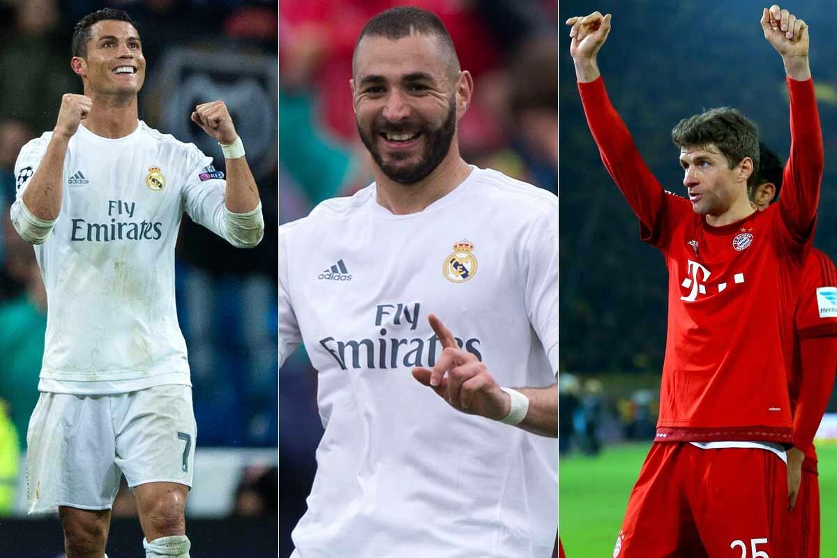 Maximos goleadores de la Champions League