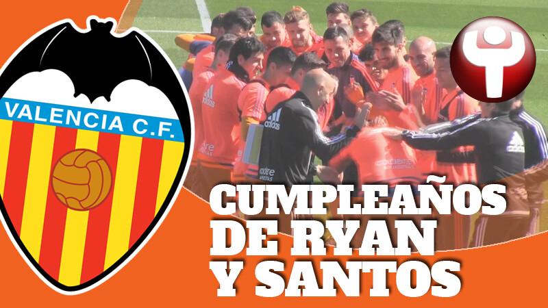 Felicitaciones De Santos Y Cumpleanos.Ryan Y Santos Celebran Su Cumpleanos Sportyou 20minutos