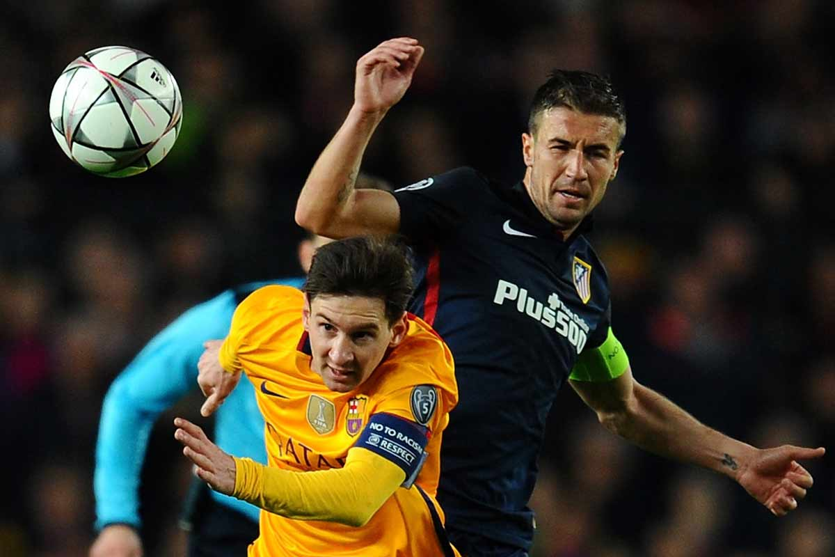 Gabi y Messi