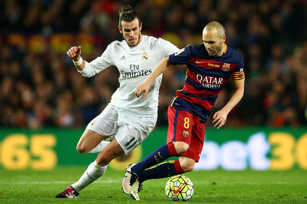Andrés Iniesta y Gareth Bale