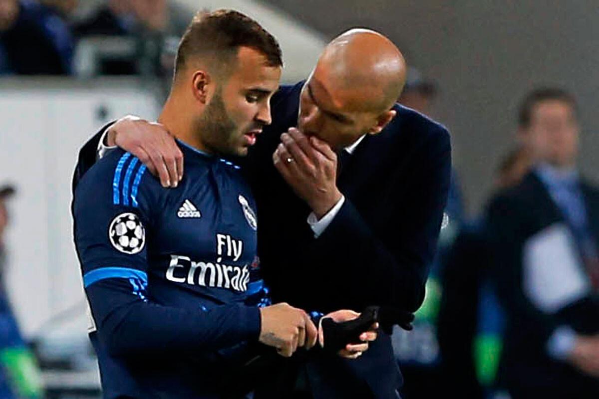 Jesé y Zidane