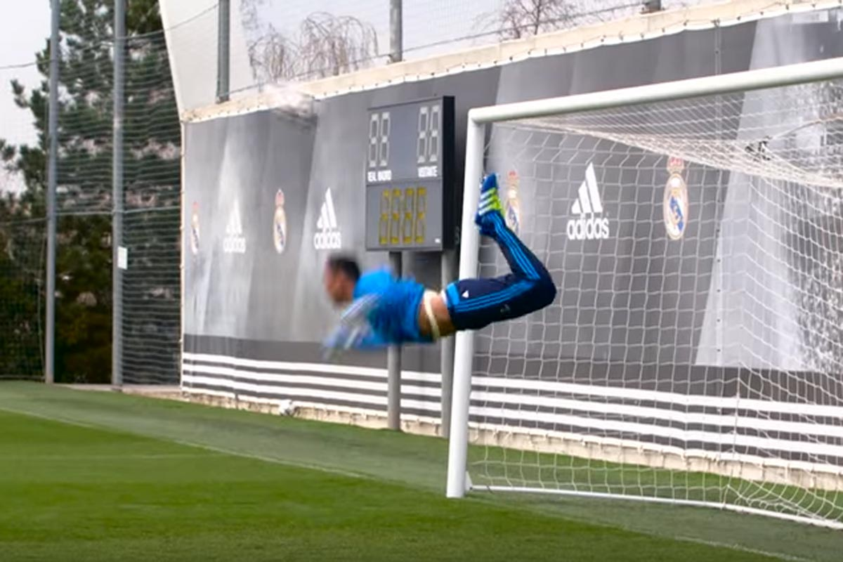 Keylor Navas es jugador del Real Madrid