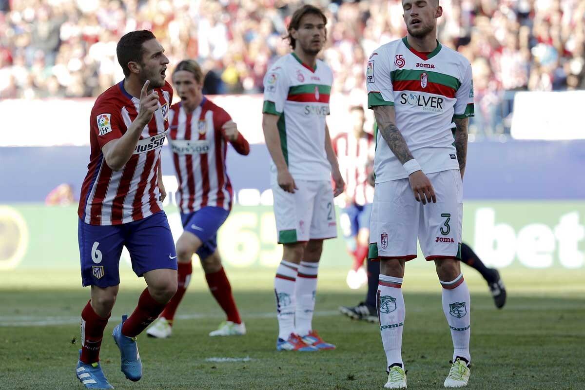 Atlético de Madrid-Granada