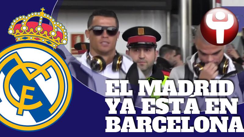 Real Madrid llega a Barcelona