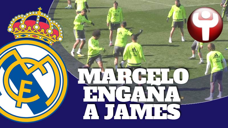 Marcelo engaña a James