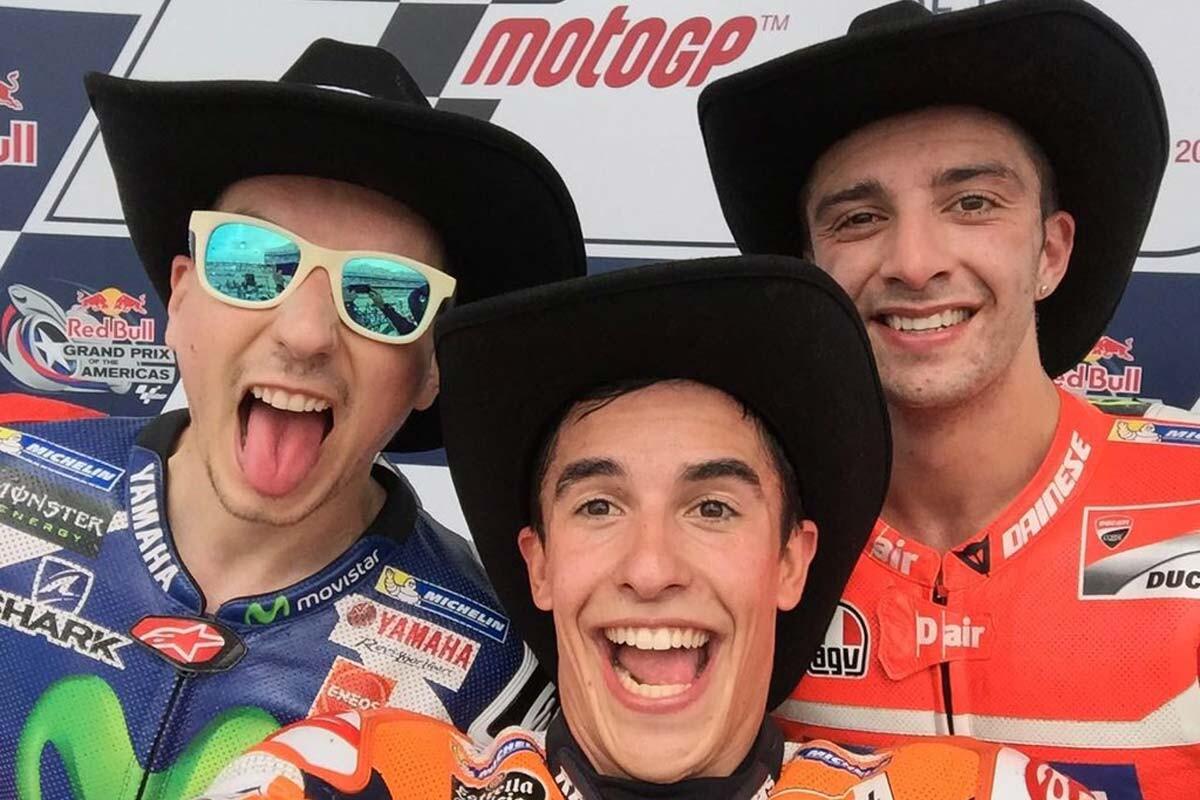 Márquez, Lorenzo y Ianonne