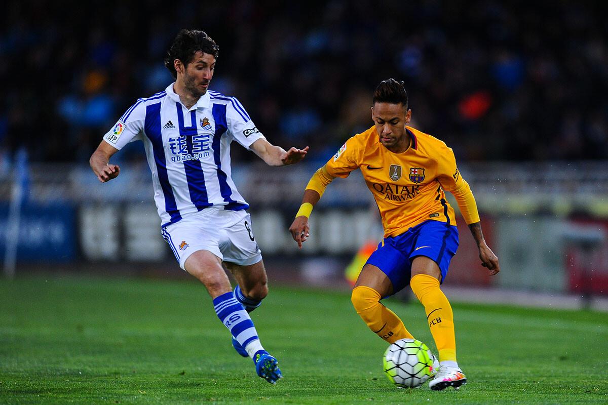 Neymar en Anoeta