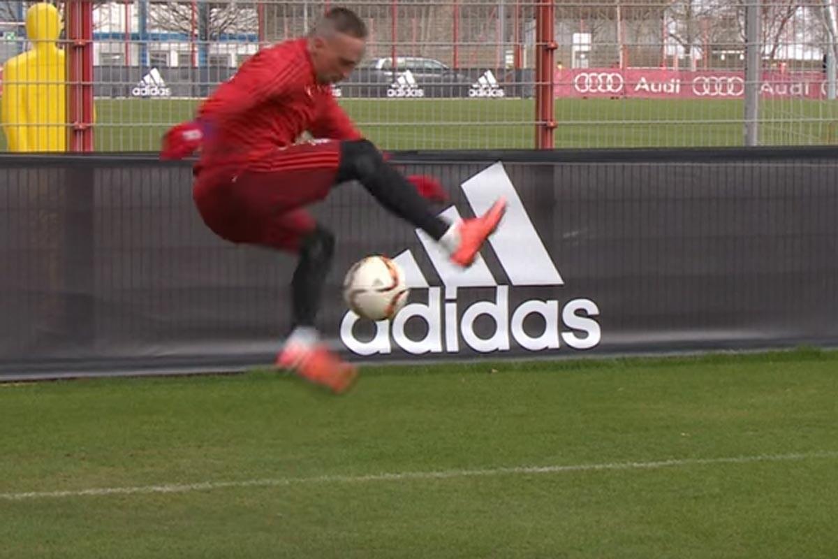 Ribery es jugador del Bayern Munich