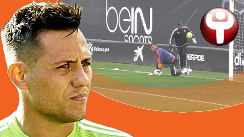 Diego Alves Real Madrid