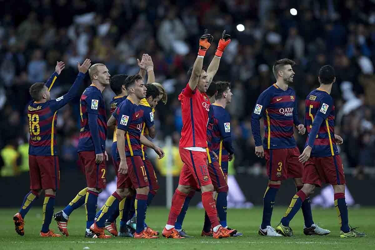 El Barça a 90 minutos de ser campeón.