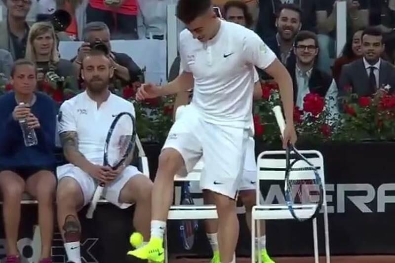 El Shaarawy pelota tenis