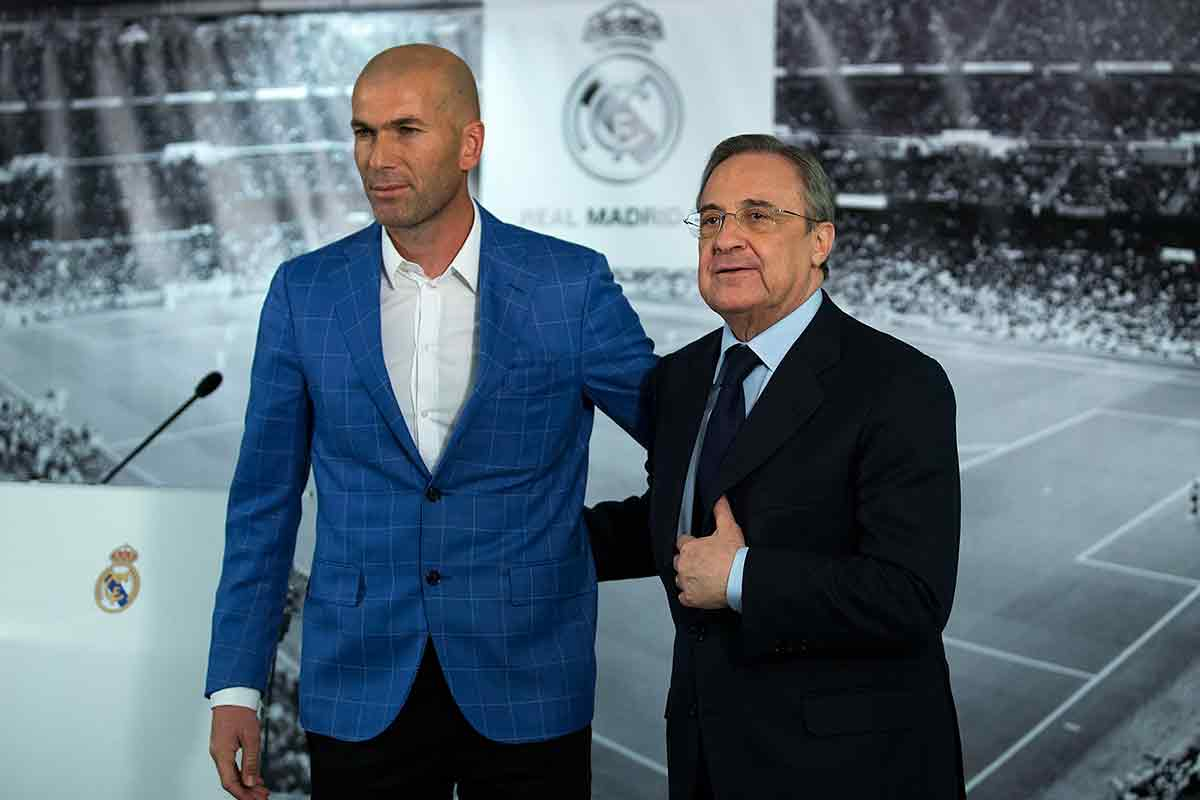 Florentino Pérez, sobre los fichajes del Real Madrid