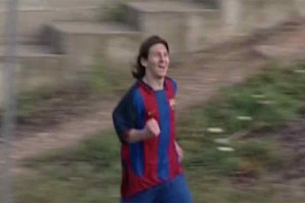 El argentino estrenó su idilio goleador contra el Sevilla en 2004