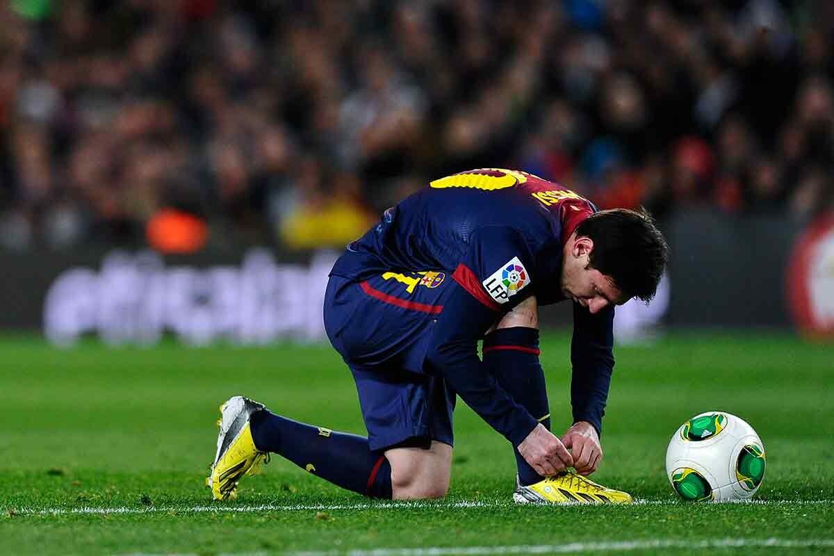 Llevarán Botas Nuevas No Sportyou Messi Bale Cordones Y Las De CWedBorx