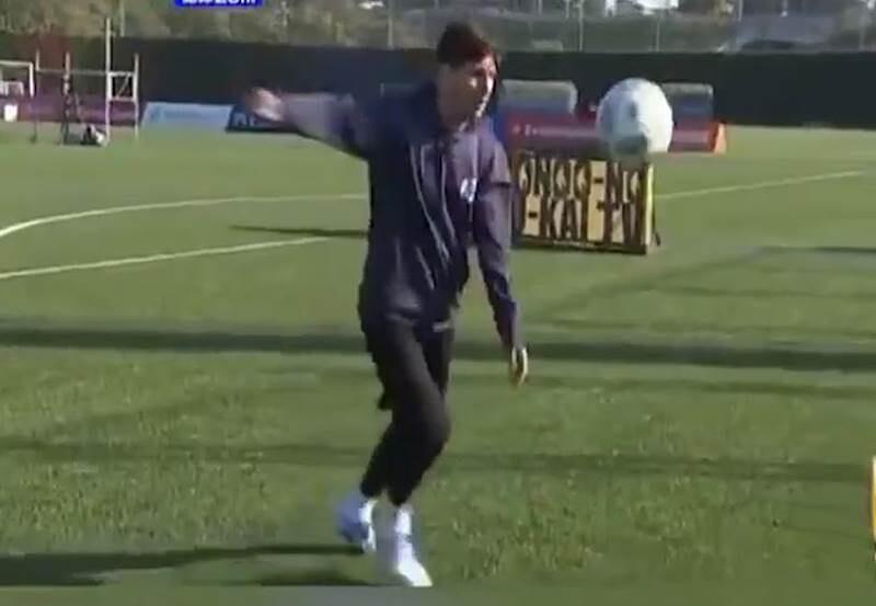 Messi toque japon