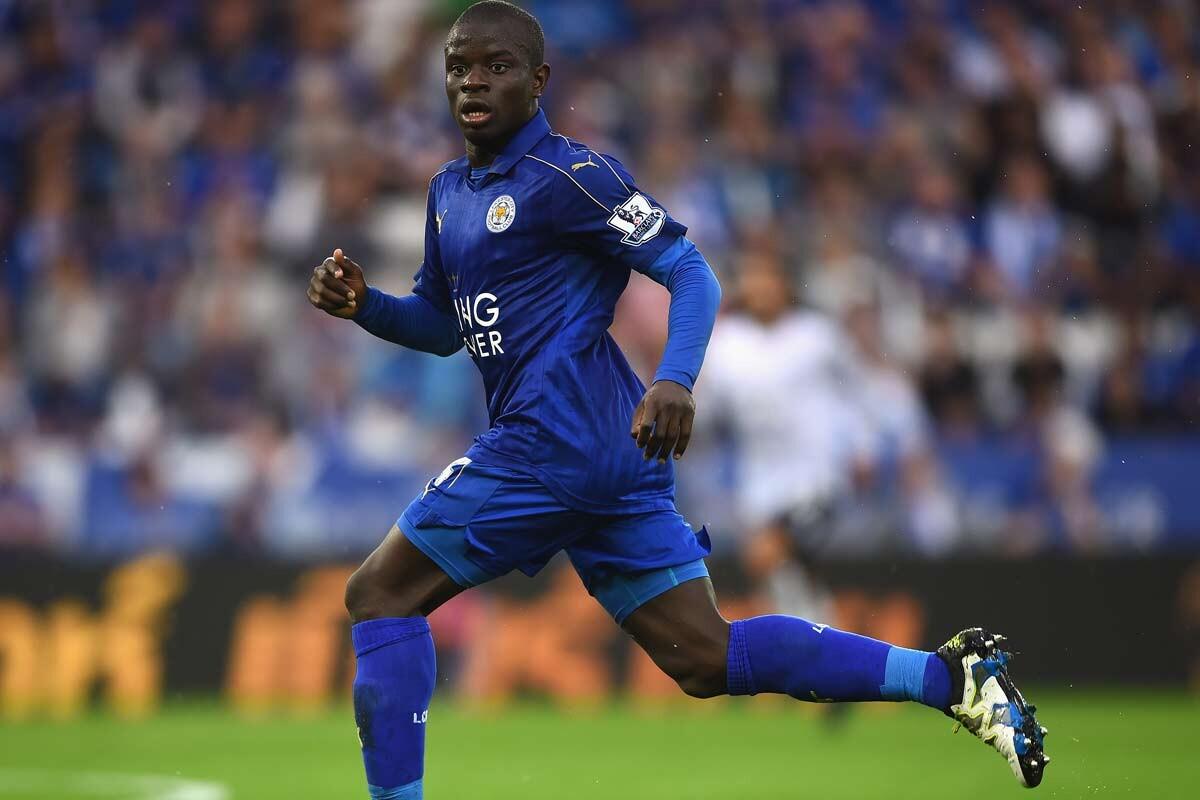 N'Golo Kante, centrocampista del Leicester City