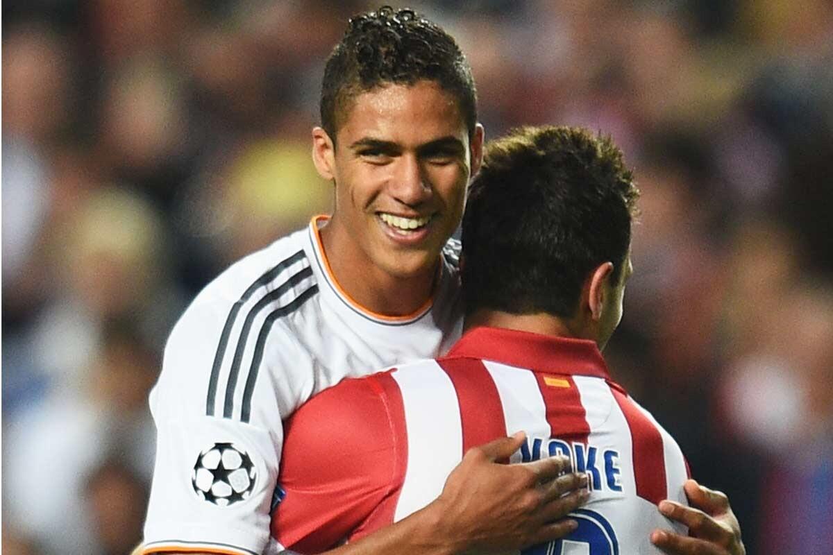 Varane y Koke, en la final de Lisboa