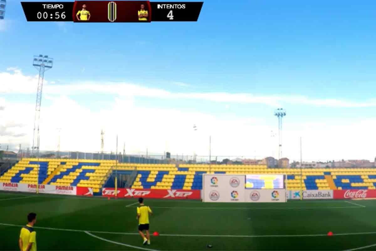 Reto entre los jugadores del Villarreal
