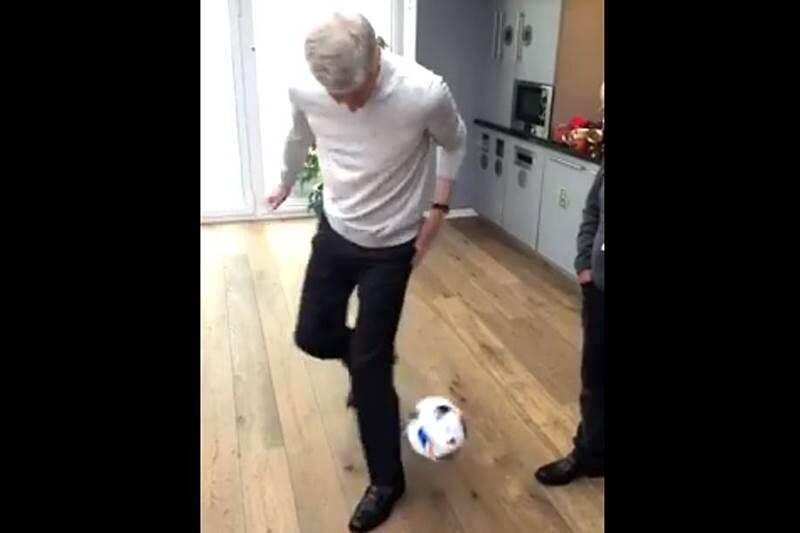 Wenger truco balon