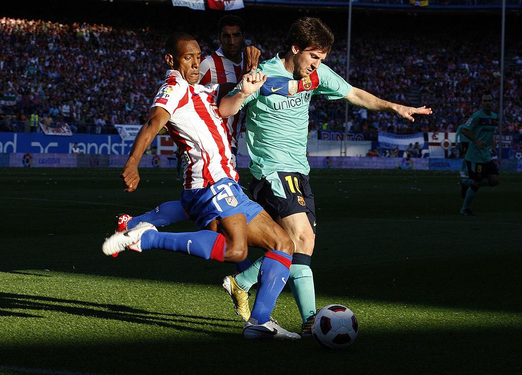 Perea en el Atlético de Madrid