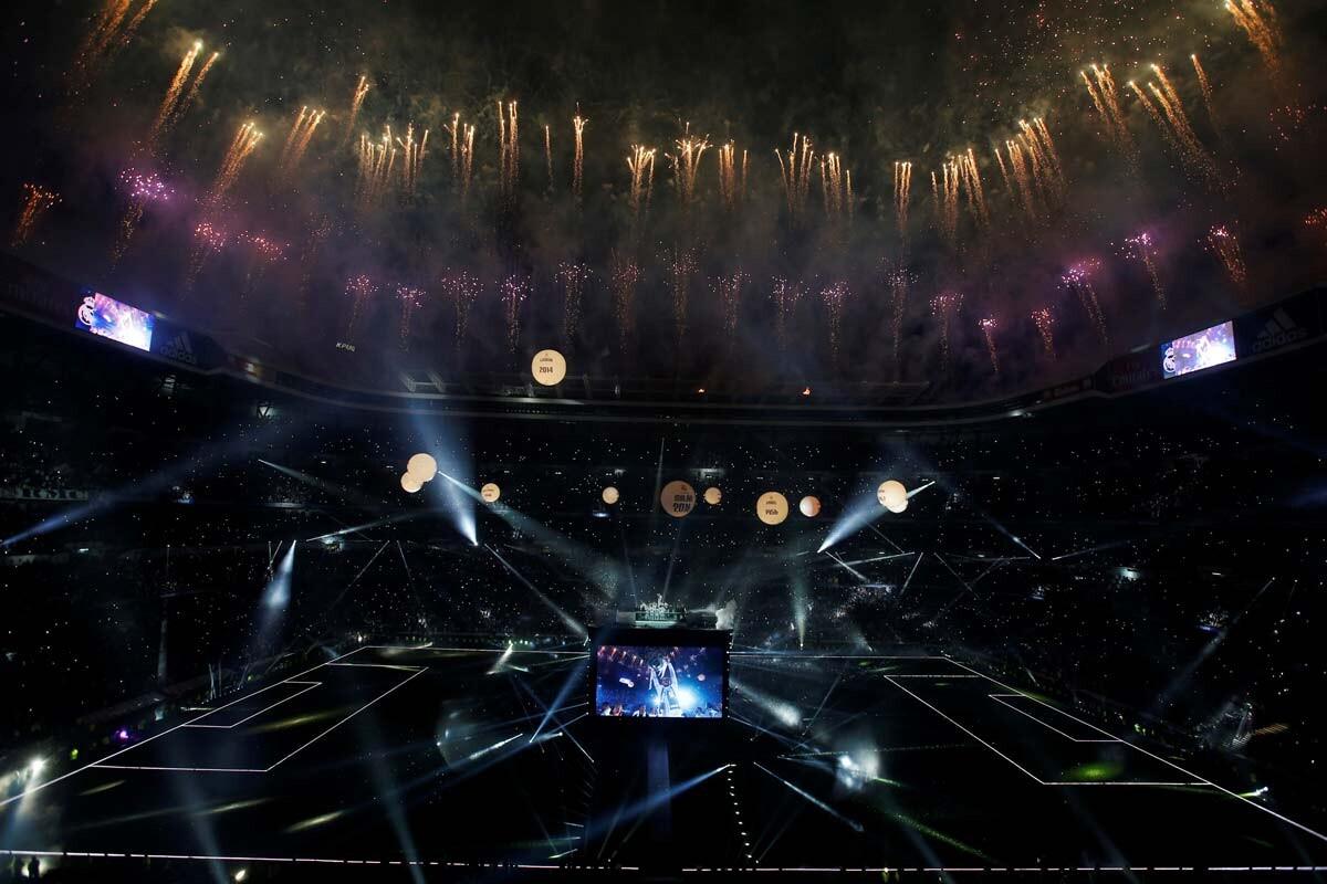 Fiesta en el Bernabéu