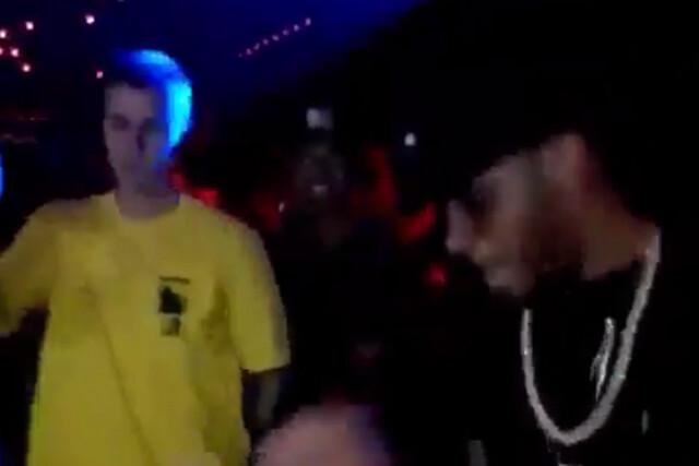 Justin Bieber y Lewis Hamilton
