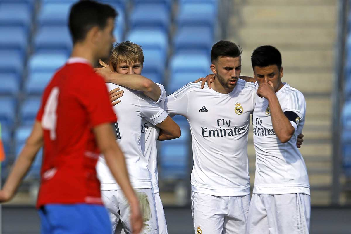 Castilla Real Madrid-La Roda