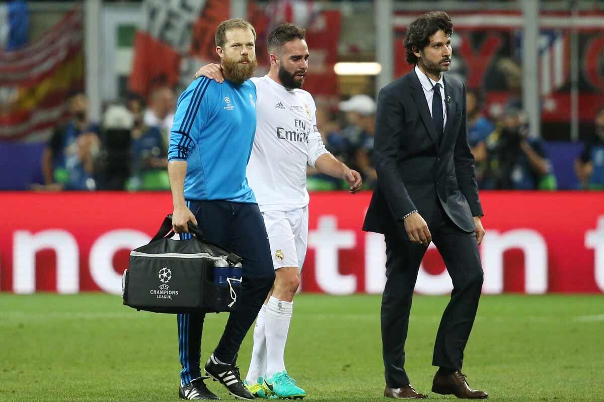 Dani Carvajal es jugador del Real Madrid