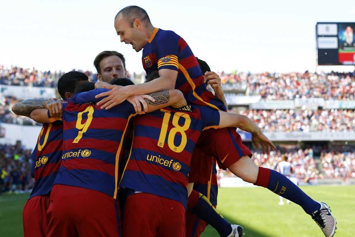 El Barcelona logra su Liga 24