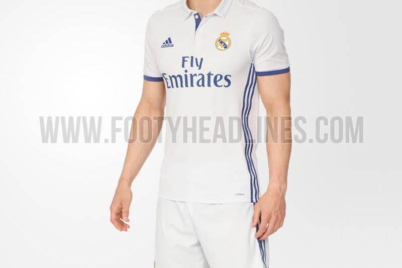 equipacion camiseta real madrid 2016 17