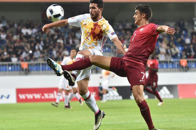 España-Portugal sub17