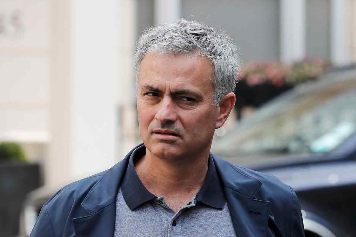 jose mourinho, del Manchester United