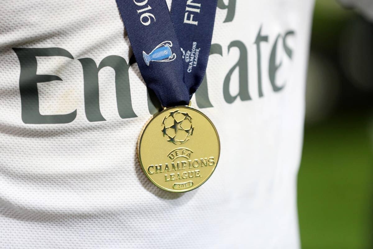Medalla de la Champions