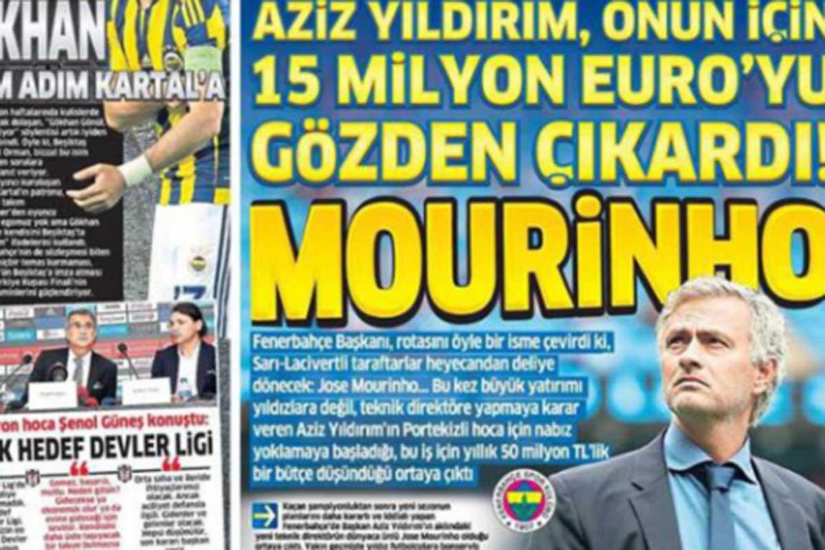 José Mourinho es entrenador