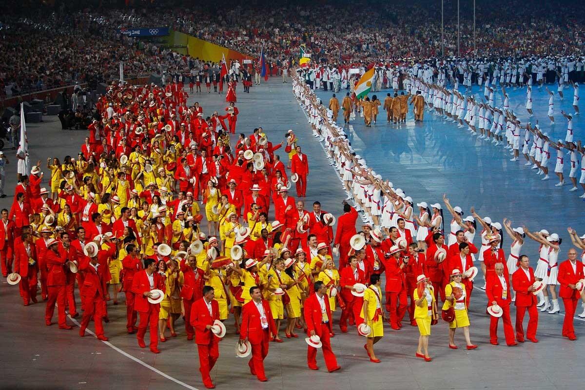 Olímpicos españoles en Pekin 2008