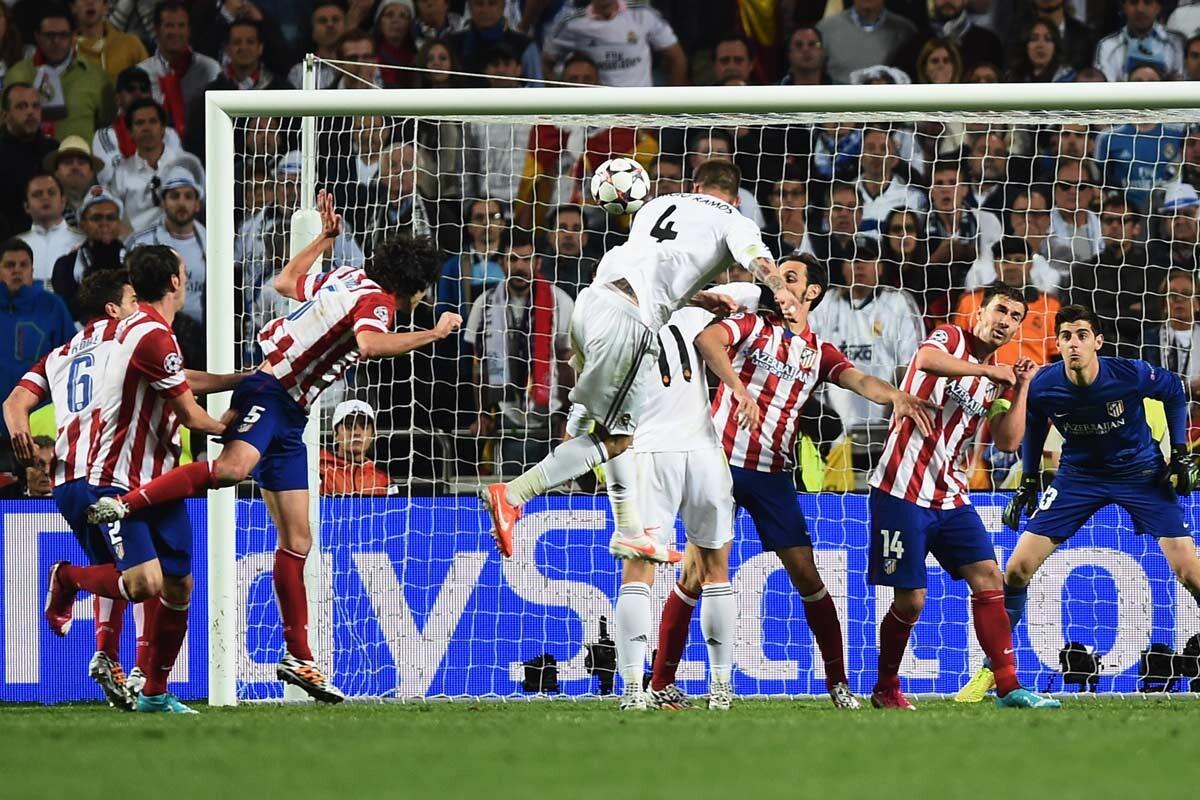 Ramos marca el gol de la Décima