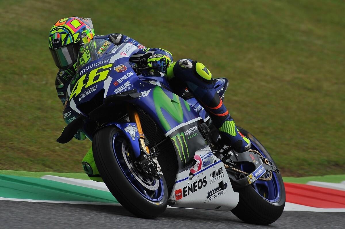 Rossi consigue la pole y colapsa Mugello