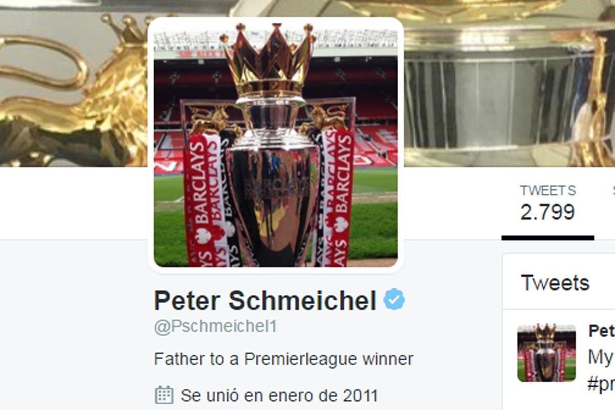 Twitter de Peter Schmeichel