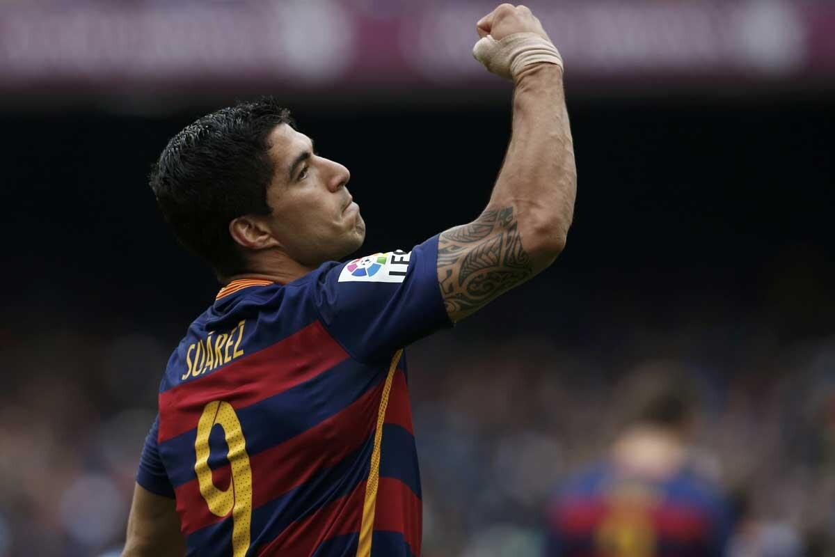 Luis Suárez es delantero del Barcelona