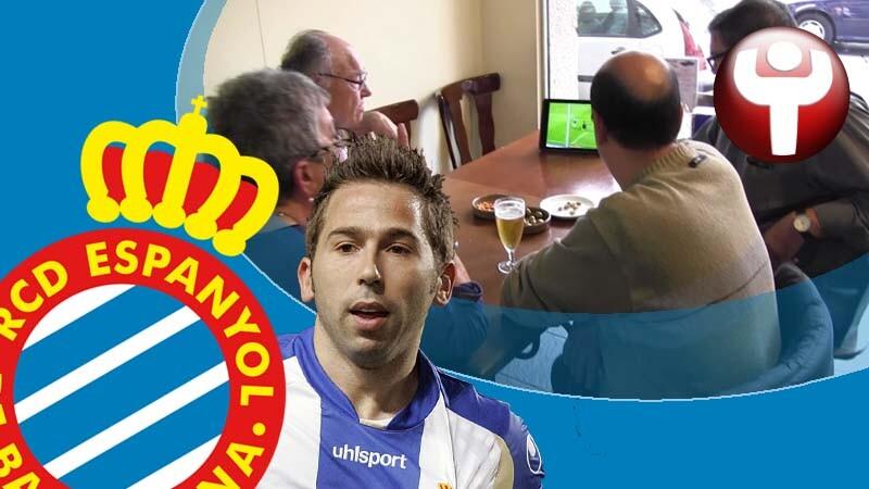 Tamudazo aficionados Espanyol