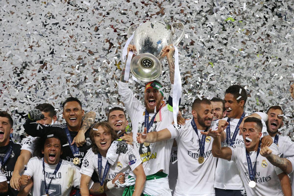 La final de la Champions League Real Madrid – Atlético, en imágenes