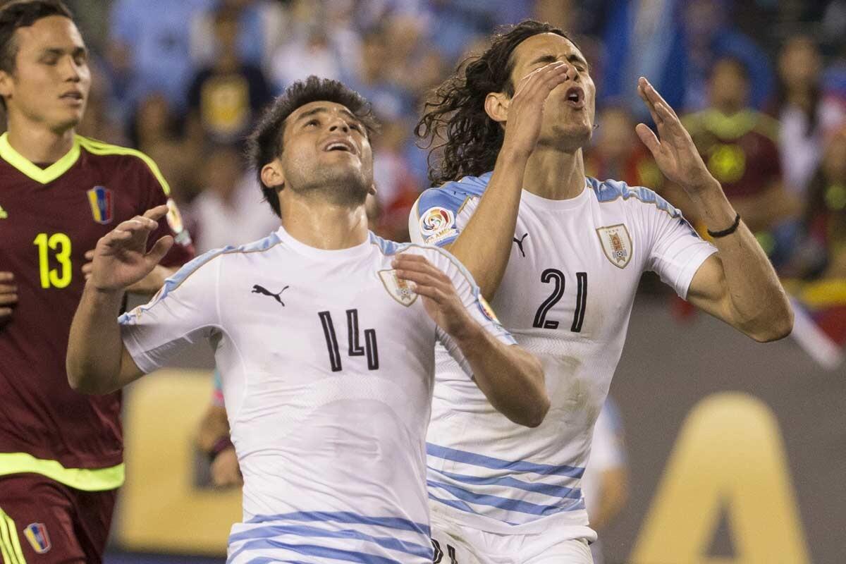 Uruguay, eliminado e la Copa América Centenario